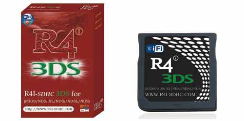 R4 3DS Cards